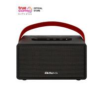 AIWA Bluetooth Speaker ลำโพงบลูทูธพกพา รุ่น MI-X150 Pro Retro Plus X BASS++ สีดำ 1 ชิ้น