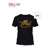 Mc Jeans T-Shirt เสื้อยืดคอกลม 4 ตัว