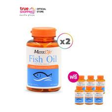 Maxx Life Fish oil น้ำมันปลา ผสมวิตามินอี