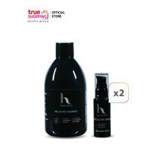 Hair2Pro Pro-Active Serum เซรั่มลดผมร่วง 2 ชิ้น + Hair2Pro Pro-Active Shampoo แชมพูลดผมร่วง 1 ชิ้น