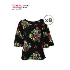 Araya อารยาเสื้อลายดอก 8 ตัว