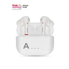 AIWA TWS Bluetooth Earphones หูฟังไร้สายแบบอินเอียร์ รุ่น AT-X80A สีขาว 1 ชิ้น