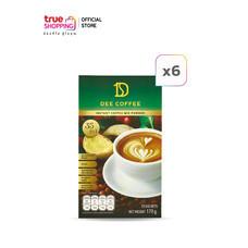 Dee Coffee กาแฟเพื่อสุขภาพปรุงสำเร็จ ชนิดผงกาแฟ 6 กล่อง