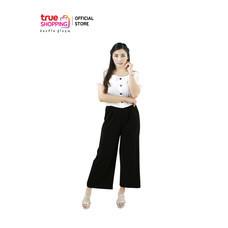 Araya อารยา กางเกงสวมสบาย สีดำ 1 ตัว