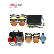 GL ColVin ชุดแว่นตากันแดด Magnetic 2 ชิ้น พร้อมของแถม