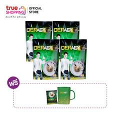 กาแฟเดอเอ้ Deraey Coffee 30 in 1 จำนวน 4 แพ็ก แถมฟรี! ขนาด 20 กรัม และถ้วยกาแฟ 1 ใบ