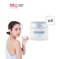 COS NINE Tone Up Blanc Cream ครีมบำรุงผิวหน้ากระจ่างใส 70g. เซต 4 กระปุก