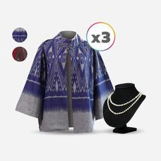 Alisa เสื้อคลุม พิมพ์ลายไทย