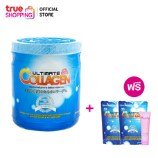 Trueshopping ชุดผลิตภัณฑ์เสริมอาหาร Ultimate Collagen Tri-Peptide