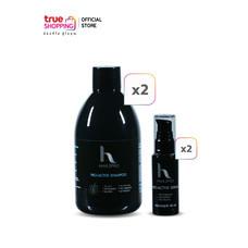 Hair2Pro Pro-Active Shampoo แชมพูลดผมร่วง 2 ชิ้น + Hair2Pro Pro-Active Serum เซรั่มลดผมร่วง 2 ชิ้น