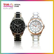 Trueshopping นาฬิกา MIKE Black And White Duo
