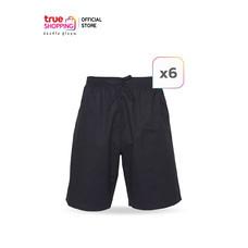 CLOTHING โครทติ้ง กางเกงขาสั้นผู้ชาย สไตล์เรียบเท่ Free Size (6 ตัว)