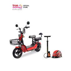SKG Motor จักรยานไฟฟ้าแถมสูบลมและหมวกกันน็อค