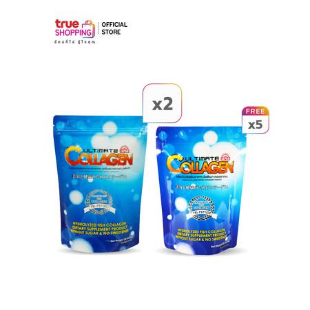 Ultimate Collagen 120g 2 ซอง แถมฟรี 50g 5 ซอง