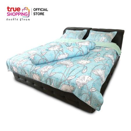 ชุดผ้าปูที่นอน Flora Dream ลาย Blue Pond (King Size)