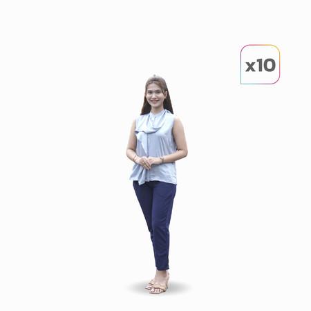 รุจิรา กางเกงใส่สบาย เซต 10 ตัว