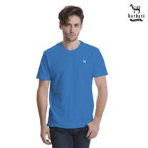 Barbari เสื้อยืดคอกลม Premium Cotton 100% ใส่ได้ทั้งผู้ชายผู้หญิง สีฟ้า