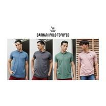 Barbari Polo รุ่น Top dyed เสื้อยืดคอปก  Premium Cotton 100%  ใส่ได้ทั้งผู้ชายผู้หญิง (BBP2)