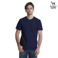 Barbari เสื้อยืดคอกลม  Premium Cotton 100%  ใส่ได้ทั้งผู้ชายผู้หญิง สีกรม