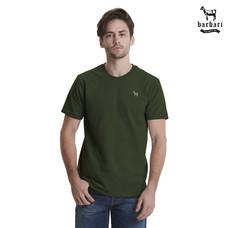 Barbari เสื้อยืดคอกลม  Premium Cotton 100%  ใส่ได้ทั้งผู้ชายผู้หญิง สีเขียว