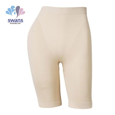 SWANS กางเกงกระชับสัดส่วน (เอวต่ำ) Basic Girdle - สีเนื้อ (Free Size)