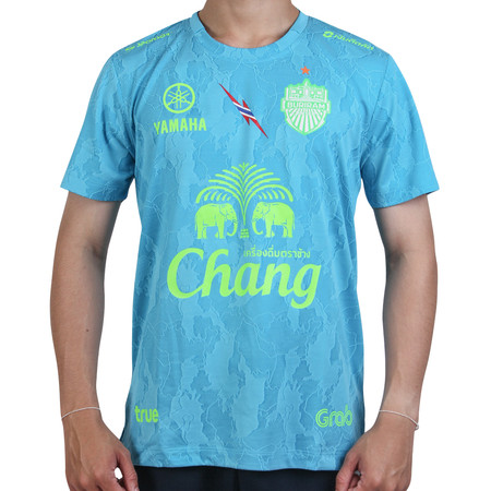 เสื้อซ้อม BURIRAM UNITED 2020 T-Shirt มีแขน - สีฟ้า