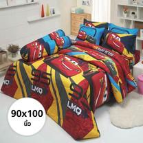 ผ้าห่ม ผ้านวม ลายคาร์ ขนาด 90x100 นิ้ว DLC017