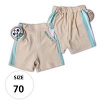 กางเกงขาสั้นผ้ายืด มีโมคุโร่ที่กระเป๋าด้านหน้า TPM019-02/S70