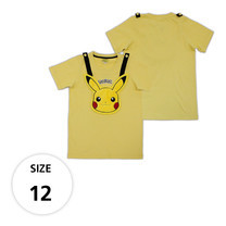เสื้อยืดพิคาชู (กระเป๋าถอดได้) TPM105-07/S12