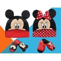 Set : Mickey และ Minnie จำนวน 4 ชิ้น