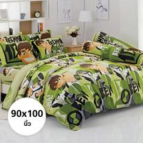 ผ้าห่ม ผ้านวม ลายเบ็นเท็น ขนาด 90x100 นิ้ว DLC071