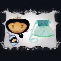 Set : เจ้าหญิง Jasmine จำนวน 3 ชิ้น
