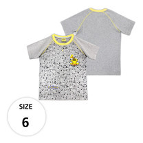 เสื้อยืดลายพิคาชู TPM105-29/S6