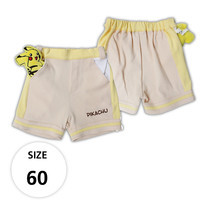 กางเกงขาสั้นผ้ายืด มีพิคาชูที่กระเป๋าด้านหน้า TPM019-01/S60