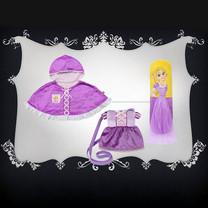 Set : เจ้าหญิง Rapunzel จำนวน 3 ชิ้น