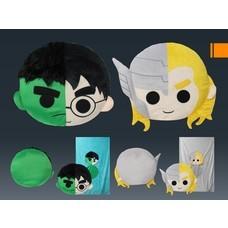 หมอนผ้าห่มมาร์เวล Hulk และ Thor จำนวน 2 ใบ