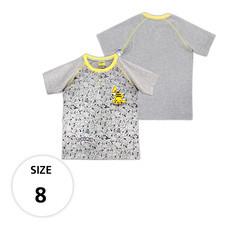 เสื้อยืดลายพิคาชู TPM105-29/S8