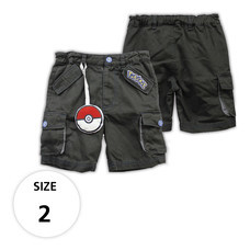 กางเกงขาสั้น กระเป๋าข้าง มีพวงโปเกบอล TPM160-02/S2