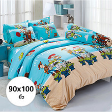 ผ้าห่ม ผ้านวม ลายทอย สตอรี่ ขนาด 90x100 นิ้ว DLC068