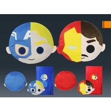 หมอนผ้าห่มมาร์เวล Captain America และ Iron man จำนวน 2 ใบ