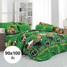 ผ้าห่ม ผ้านวม ลายเบ็นเท็น ขนาด 90x100 นิ้ว DLC069