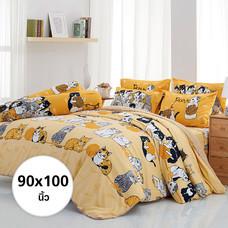 ผ้าห่ม ผ้านวม ลายทูนหัวของบ่าว ขนาด 90x100 นิ้ว DLC079