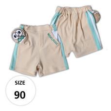 กางเกงขาสั้นผ้ายืด มีโมคุโร่ที่กระเป๋าด้านหน้า TPM019-02/S90