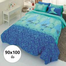 ผ้าห่ม ผ้านวม ลายเจ้าหญิง ขนาด 90x100 นิ้ว DLC002