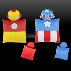 หมอนอิง มาร์เวล Iron man and Captain America /2 ใบ