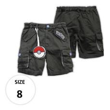 กางเกงขาสั้น กระเป๋าข้าง มีพวงโปเกบอล TPM160-02/S8
