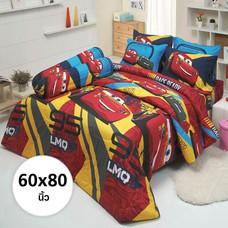ผ้าห่ม ผ้านวม ลายคาร์ ขนาด 60x80 นิ้ว DLC017