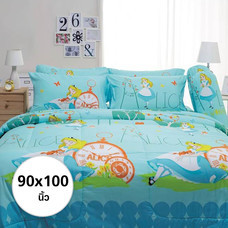 ผ้าห่ม ผ้านวม ลายอลิซ ขนาด 90x100 นิ้ว DLC034
