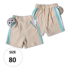 กางเกงขาสั้นผ้ายืด มีโมคุโร่ที่กระเป๋าด้านหน้า TPM019-02/S80