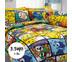 ผ้าปูที่นอน ลายโปเกมอน ขนาด 3.5 ฟุต 3 ชิ้น (DLC041)